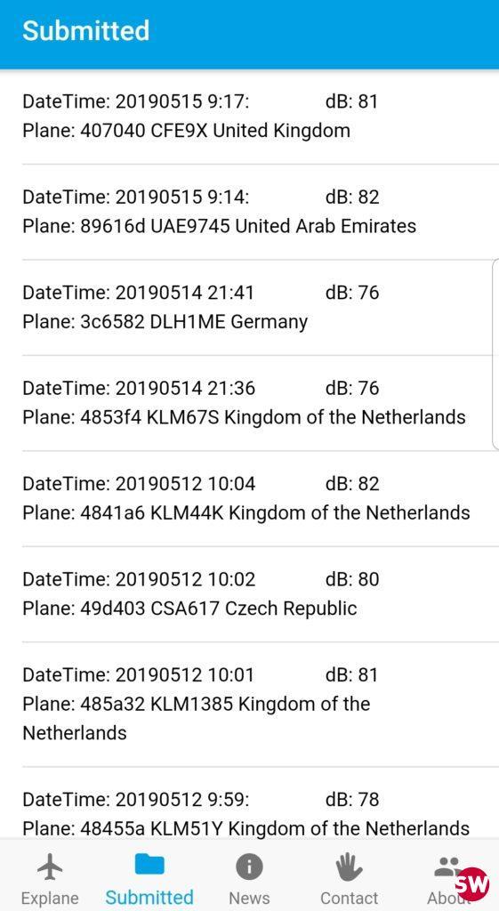 Explane registrations
