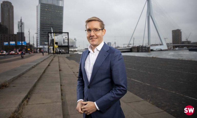 Wethouder Arno Bonte (GroenLinks, Rotterdam)