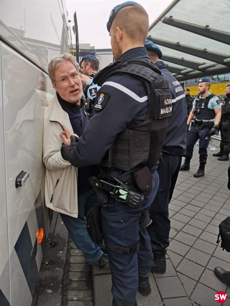 verslaggever gearresteerd