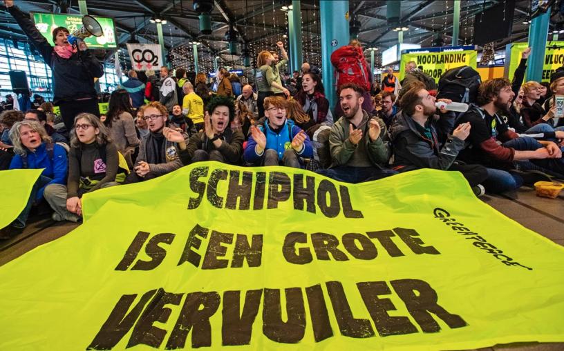 Actiefoto Greenpeace