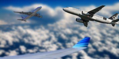 steeds meer vliegtuigen