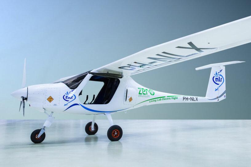 De huidige stand van de techniek in elektrisch vliegen: een tweezitter met een actieradius van enkele tientallen kilometers (foto: NLR)